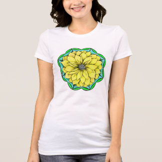 YELLOW POINSETTIA T-shirt