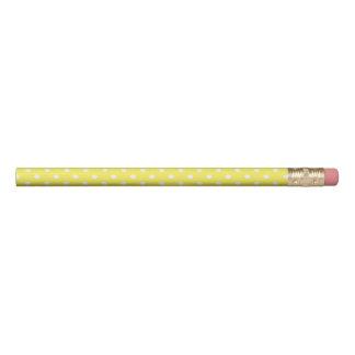 Yellow Polka Dot Pencil