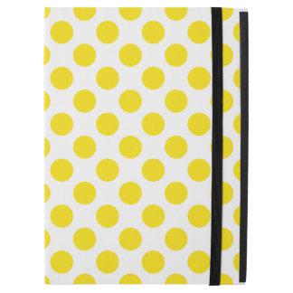 "Yellow Polka Dots iPad Pro 12.9"" Case"