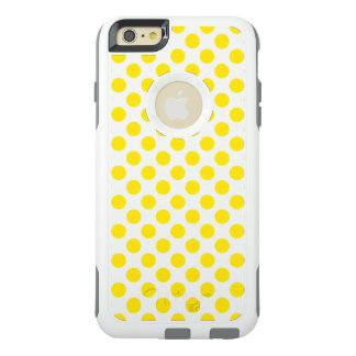 Yellow Polka Dots OtterBox iPhone 6/6s Plus Case