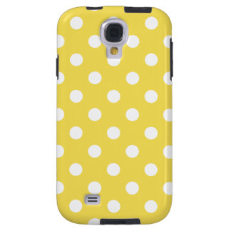 Yellow Polka Dots Pattern