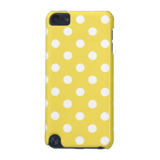 Yellow Polka Dots Pattern iPod Touch (5th Generation) Cases