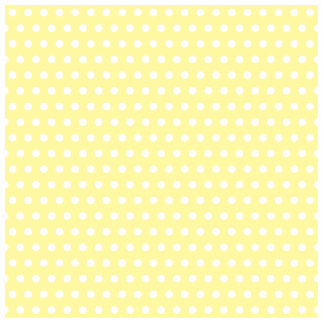 Yellow polka dots pattern. Spotty. Photo Sculpture Ornament