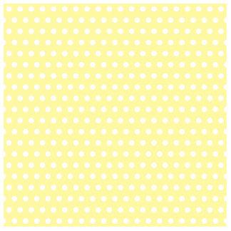 Yellow polka dots pattern. Spotty. Cut Outs