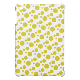 Yellow Polka Dotted  iPad Case
