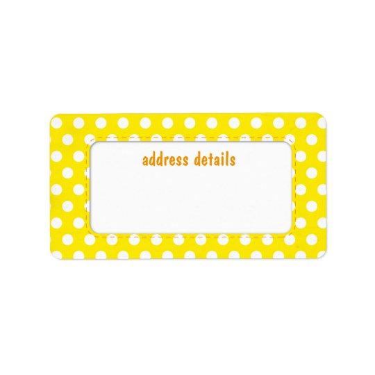 Yellow Polkadot