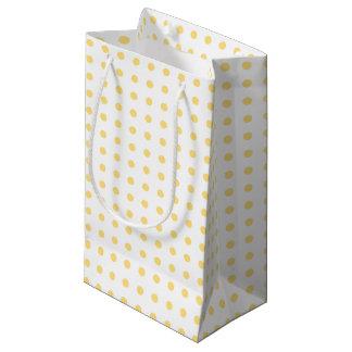 Yellow Polkadots Gift Bag