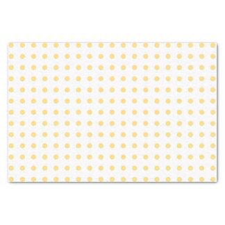 Yellow Polkadots Tissue Paper