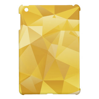 Yellow Polygon iPad Mini Cover