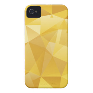 Yellow Polygon iPhone 4 Covers