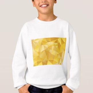 Yellow Polygon Sweatshirt