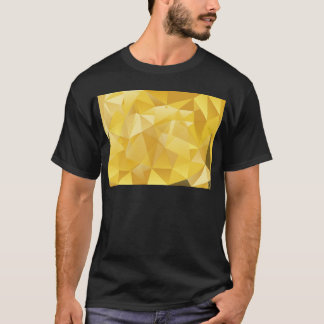Yellow Polygon T-Shirt