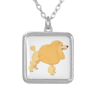 Yellow Poodle Dog Jewelry
