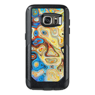 Yellow Psychadelic OtterBox Samsung Galaxy S7 Case