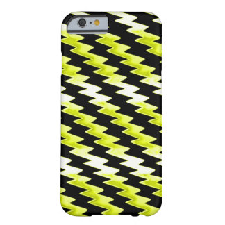 Yellow Psychedelic Lightning Pattern Barely There iPhone 6 Case