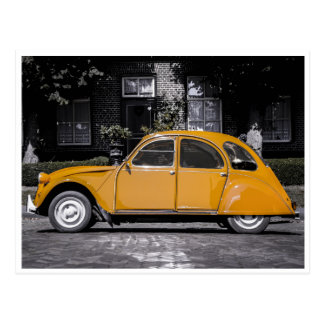 Yellow Punch Buggy! Postcard