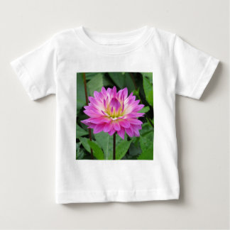 Yellow Purple Dahlia Baby T-Shirt
