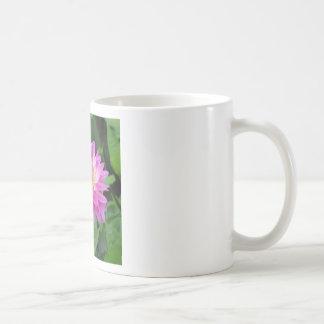 Yellow Purple Dahlia Coffee Mug
