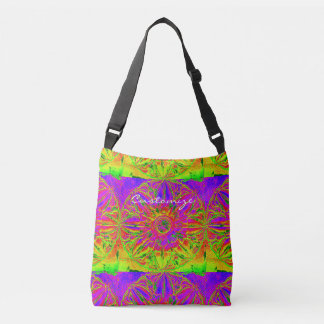 yellow purple mandala Thunder_Cove Crossbody Bag