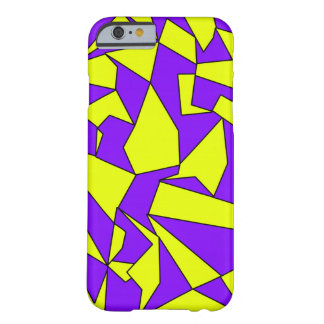 Yellow Purple Pattern Shapes iPhone 6/6s case