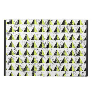 Yellow Pyramid Distressed Pattern Powis iPad Air 2 Case
