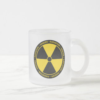 Yellow Radiation Symbol Mug