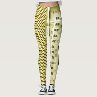 Yellow Radio! Leggings