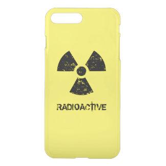 Yellow Radioactive Symbol iPhone 8 Plus/7 Plus Case