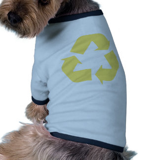 Yellow Recycle Products & Designs! Dog Tee Shirt