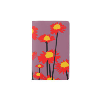 Yellow Red Decorative Designer Modern Journal