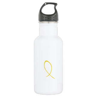 Yellow Ribbon Customizable 532 Ml Water Bottle