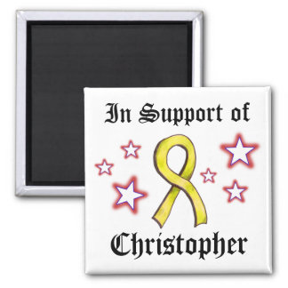 Yellow Ribbon - in Support Magnet