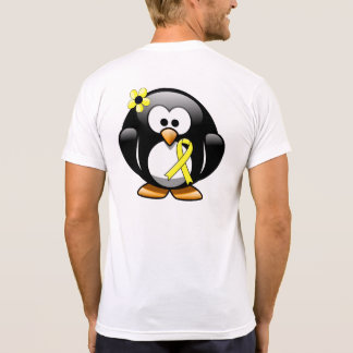 Yellow Ribbon Penguin Shirts