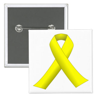 Yellow Ribbon (until they all come home) Button
