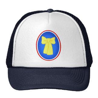 Yellow Ribbons Mesh Hat