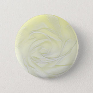 Yellow Rose Abstract 2 Inch Round Button