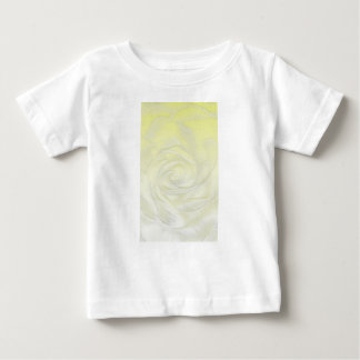 Yellow Rose Abstract Baby T-Shirt