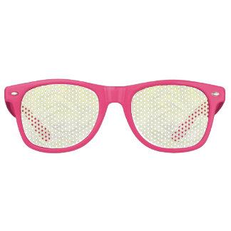 Yellow Rose Abstract Retro Sunglasses