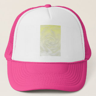 Yellow Rose Abstract Trucker Hat