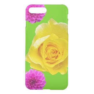Yellow Rose and Pink Dahlias Phone Case