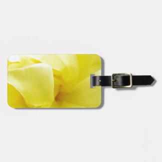 Yellow Rose Bag Tag