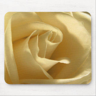 Yellow Rose Flower Petals Pretty Floral Photo Mouse Pad