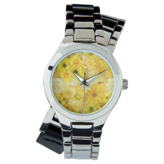 Yellow Rose Friendship Bouquet Gerbera Daisy Watch