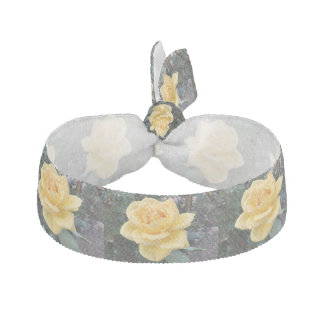 Yellow Rose Hair Tie