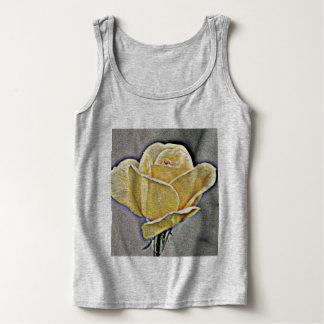 Yellow Rose in Grit Women's  TankTop