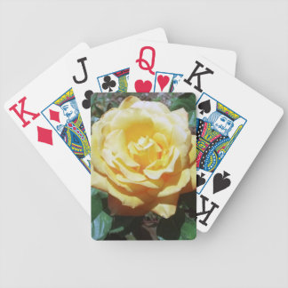 Yellow Rose Large Print Playing Cards