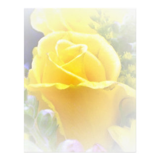 Yellow Rose Letterhead