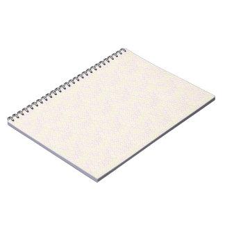 Yellow Rose Mermaid Pastel Pattern Notebook