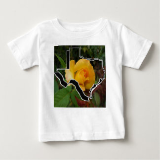 Yellow Rose of Texas with Texas Baby T-Shirt