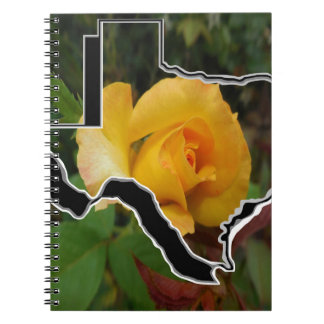 Yellow Rose of Texas with Texas Notebook